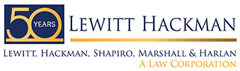 Lewitt Hackman Environmental Attorney