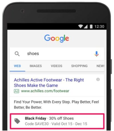 Google Ad with Promotion Extension Set Up - Real Life Example