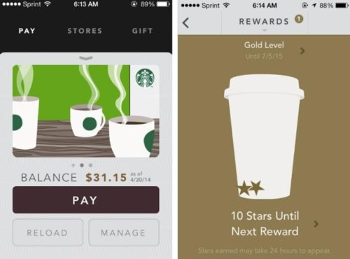 Starbucks Customer App