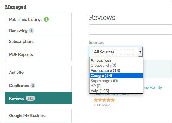 Moz Local Customer Reviews