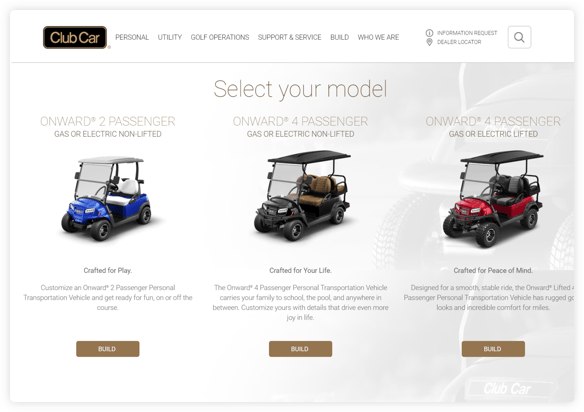 Club Car Remarketing Campaign