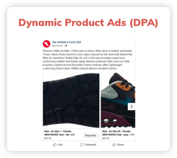 Dynamic Product Ads