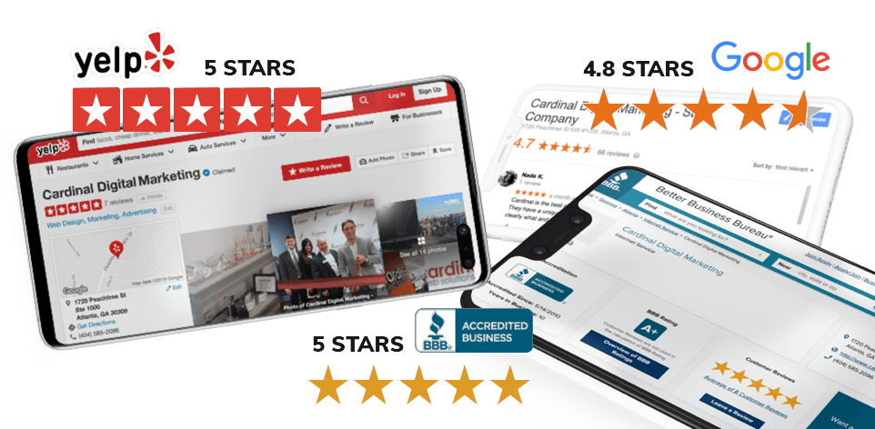 Cardinal Digital Marketing, Ratings and Reviews