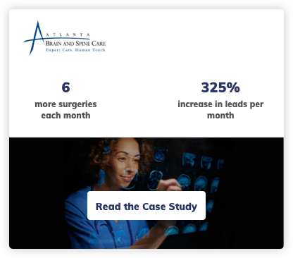 Neurosurgery Digital Marketing Case Study