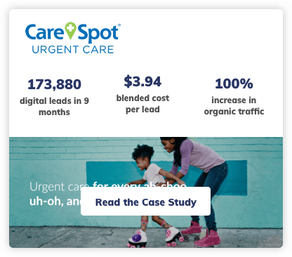 Carespot Digital Marketing Case Study