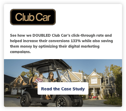 Club Car Digital Marketing Case Study