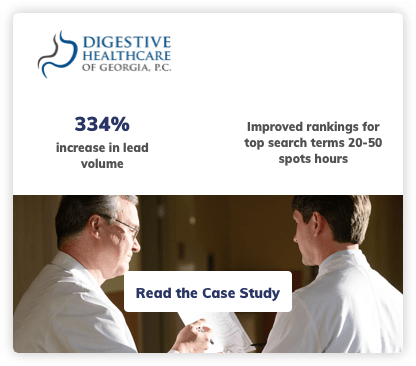 Digestive Healthcare Digital Marketing Case Study