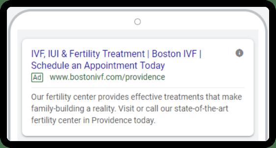 IVF Ad