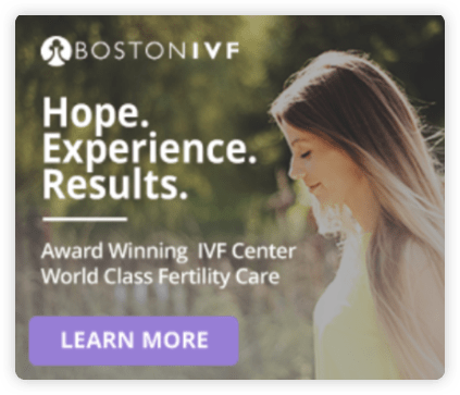 Boston Fertility Treatment Remarketing Ad
