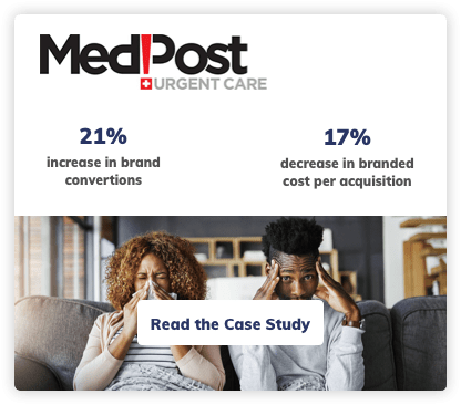 Medpost Urgent Care Digital Marketing Case Study
