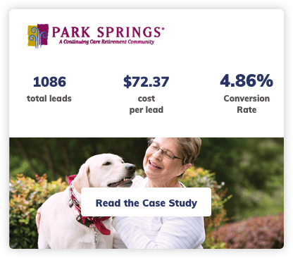 Assisted Living Digital Marketing Case Study