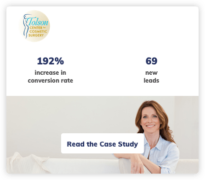 Plastic Surgery Digital Marketing Case Study