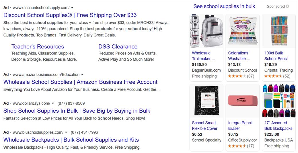 google ads cons
