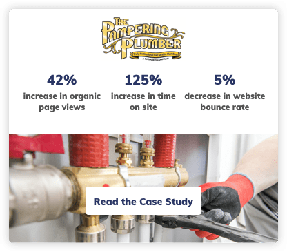Plumber Digital Marketing SEO Case Study
