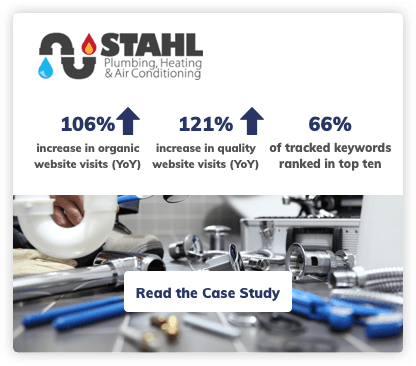 Plumbing Company Digital Marketing Case Study