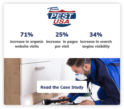 Pest Digital Marketing Case Study