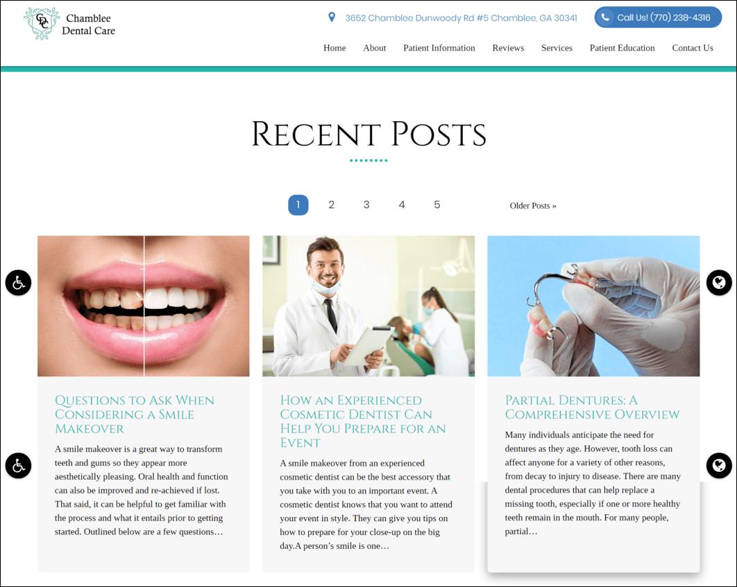 Dental Blog Posts