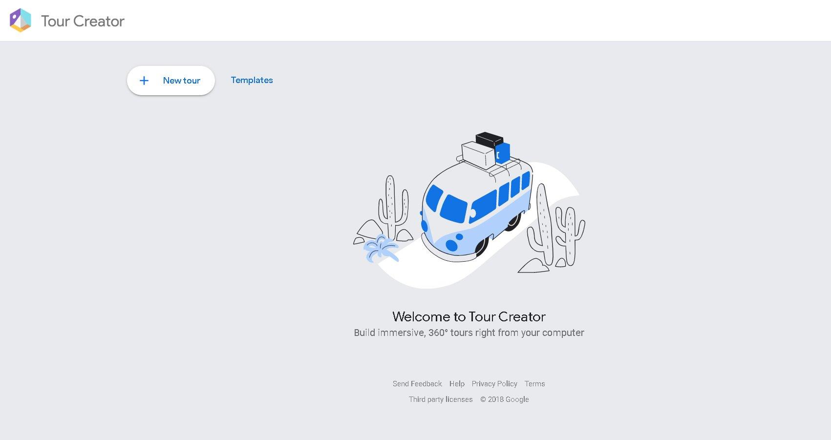 Google Tour Creator Screenshot