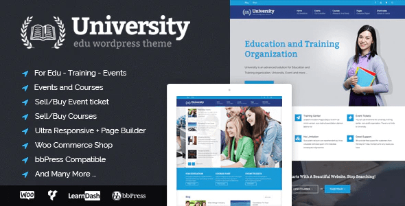 Wordpress higher education website themes