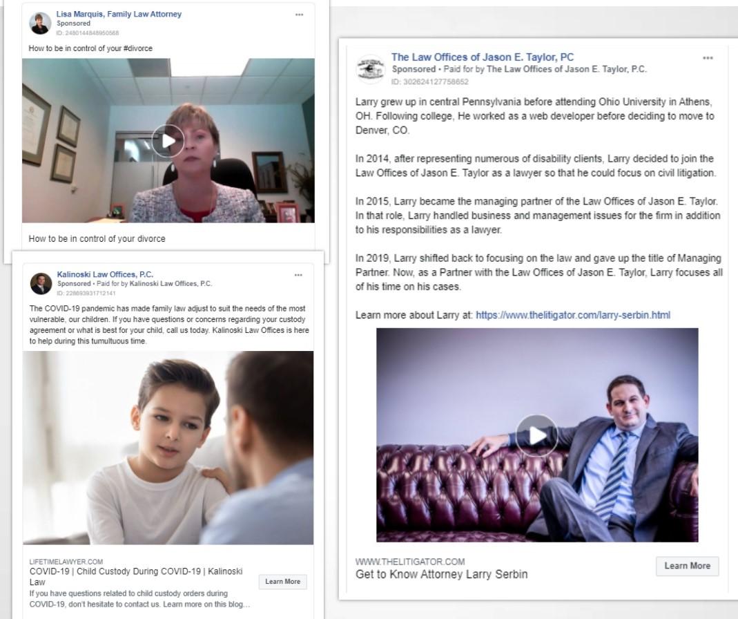 Legal Facebook Ads