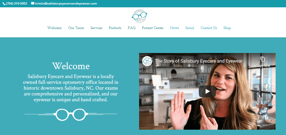 Welcome Video for Website Homepage