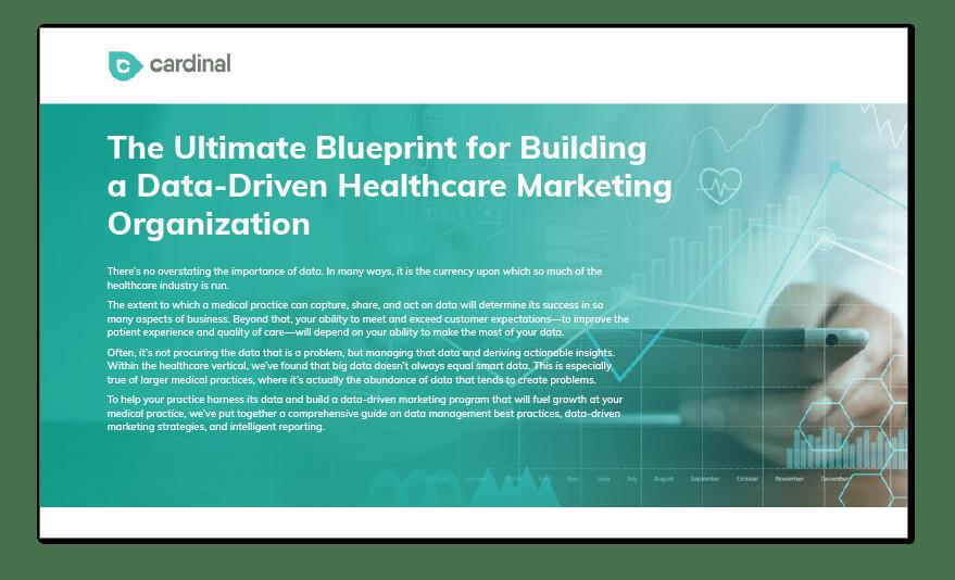 data-driven healthcare marketing ebook