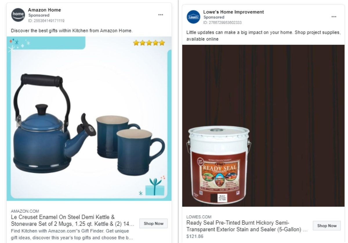 Ecommerce facebook ads