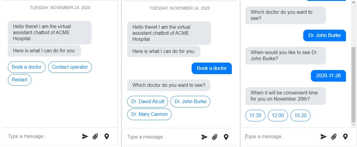 SMS chatbot for healthcare appointment booking