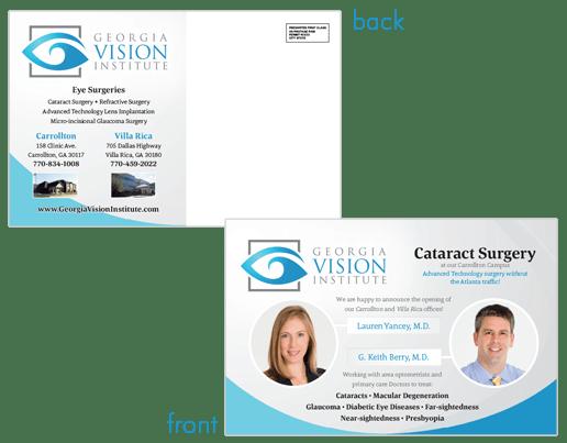 Surgeon Postcard for brand reputation