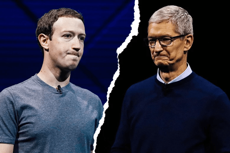 Facebook and Apple CEOs