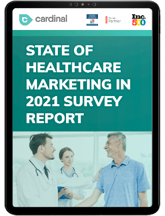 State of Healthcare Marketing Survey Report Cover