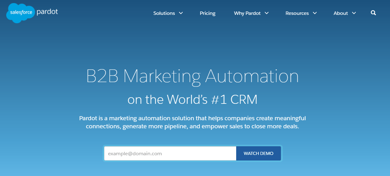 Marketing CRM with automations