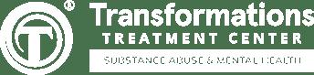 Transformations logo white