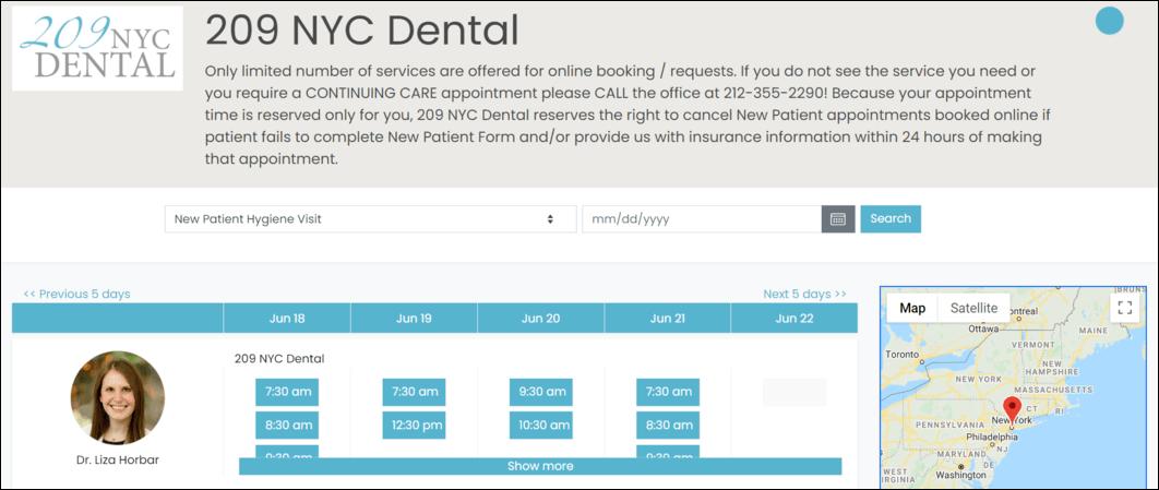 Make dental practice online scheduling easy