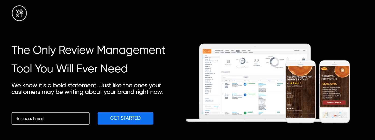 Yext review management for Private equity firms