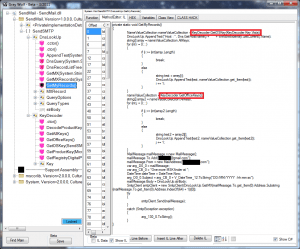 Reversing .Net Library Screenshot with office keys