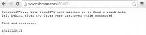 Shmooganography 2014 Steganography ECHO Clue