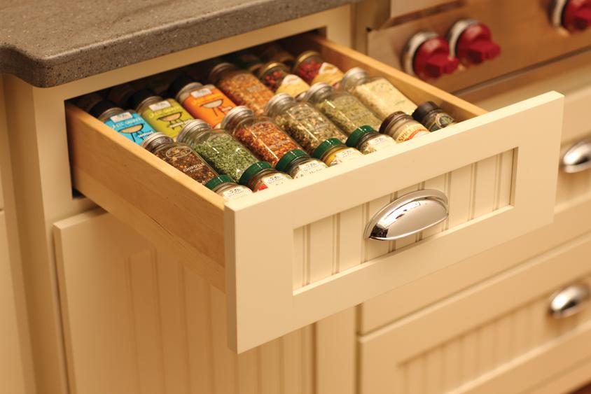 kitchen spice rack ikea cabinet doors cardinal kitchens baths storage solutions 101 accessories