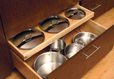 Kitchen Cabinets Pots And Pans Drawer