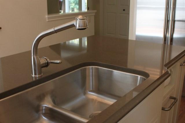 kitchen remodel, stainless steel kitchen sink