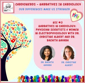 108. Narratives in Cardiology: Physician Scientists & Women in Electrophysiology with Dr. Christine Albert and Dr. Rachita Navara