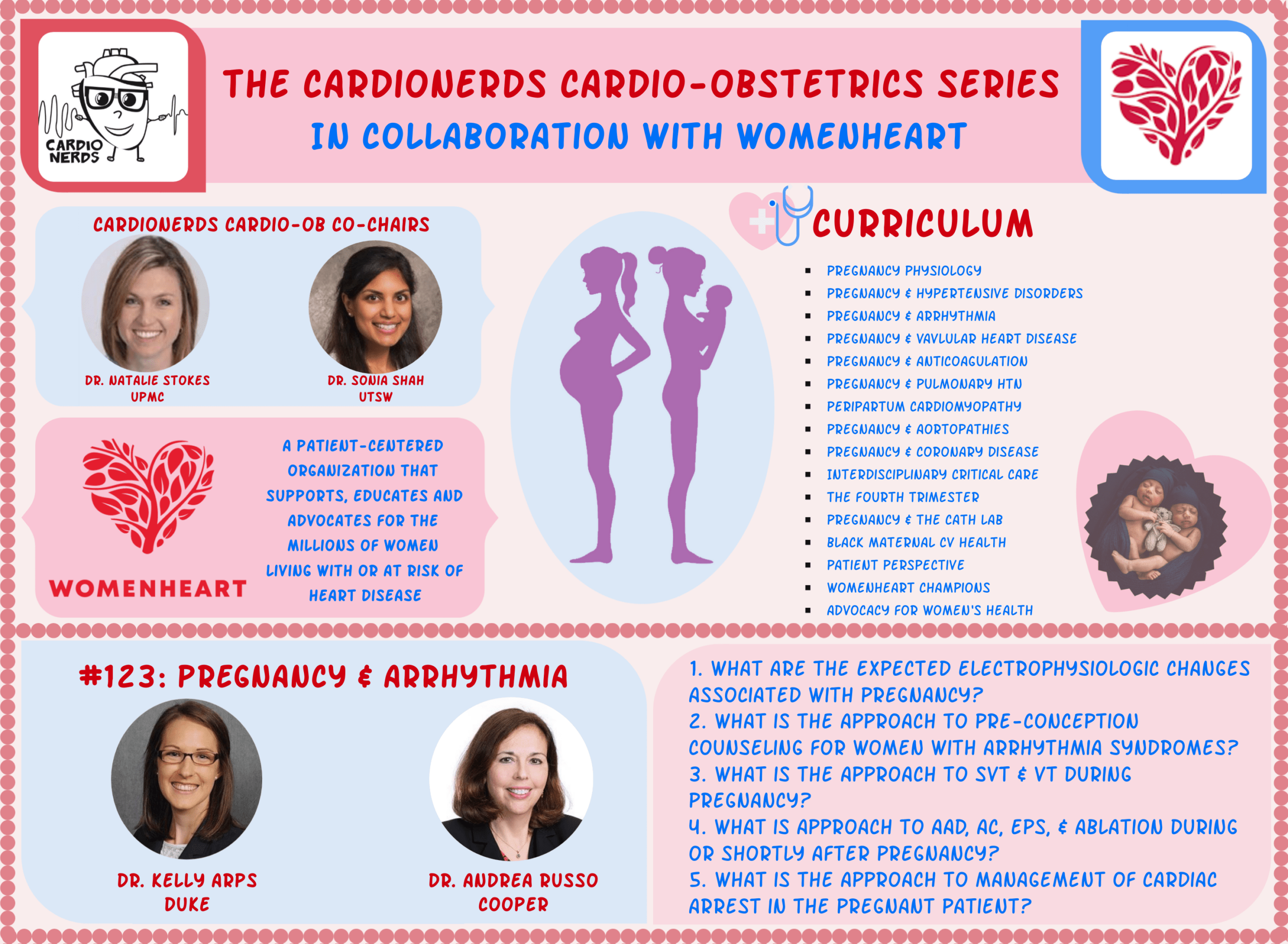 123. Cardio-Obstetrics: Pregnancy and Arrhythmia with Dr. Andrea Russo