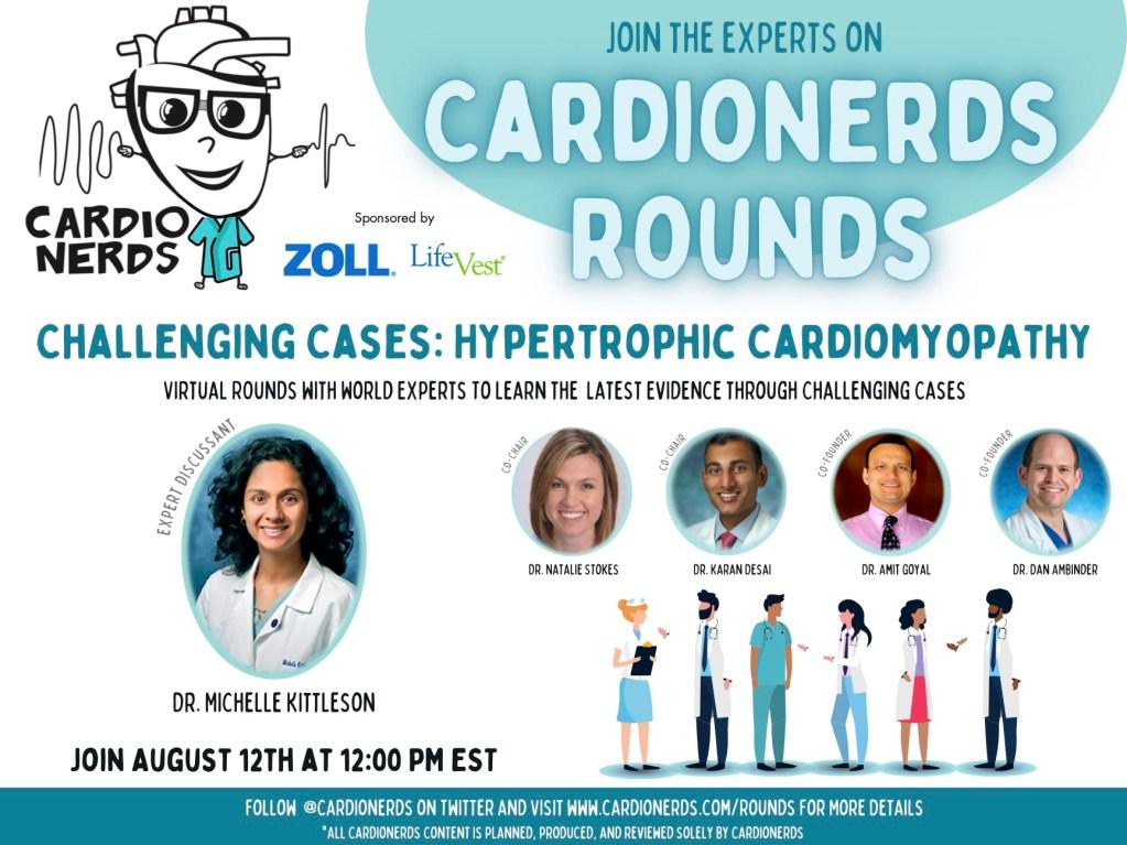 CardioNerds Rounds HCM Promo
