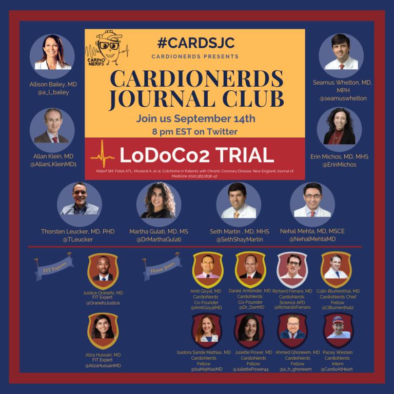 #CardsJC: The LODOCO2 Trial Promo