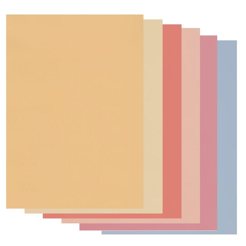 a4 mixed colours parchment