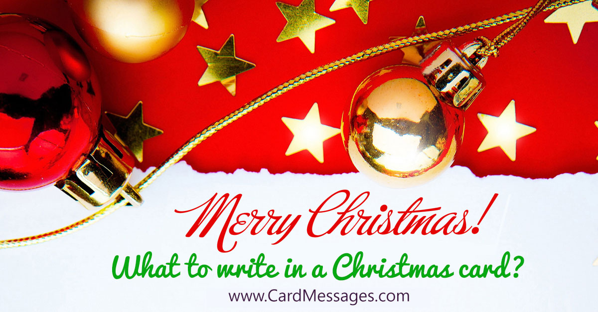 Christmas Messages For Parents Card Messages