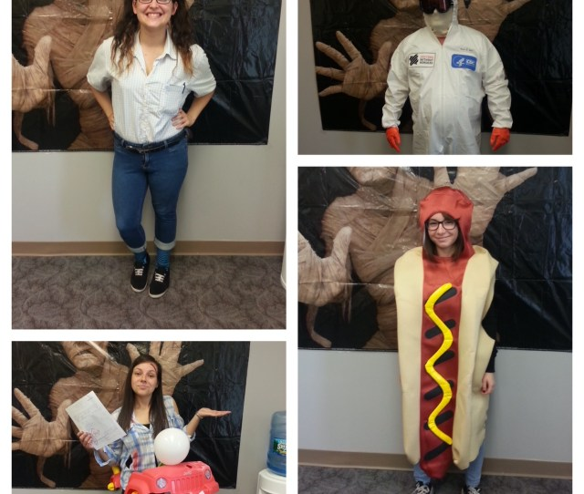 A Lot Of Our Employees Got Involved And Are All Vying For The Top Prize At This Years Costume Party Take A Look And Tell Us Who You Think Should Win