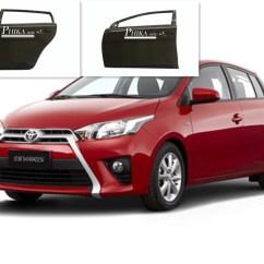 Toyota Yaris Trd Parts Grand New Avanza Vs All L Sedan Car Door Surface Treatment