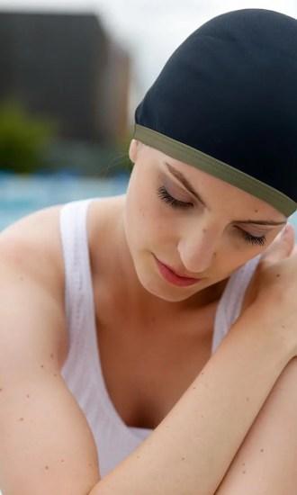 swimming cap CARDO Paris accessoire_bonnet bonnet_kaki_2
