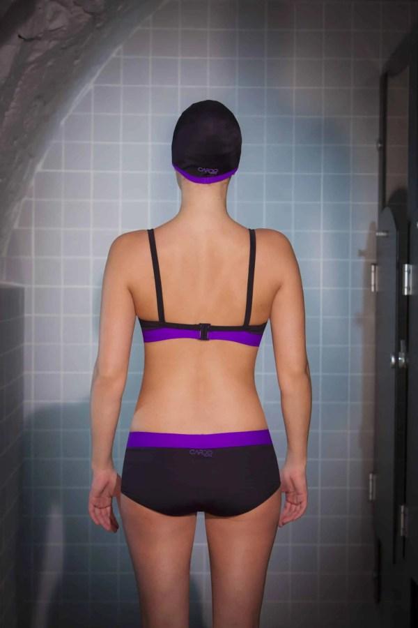 Maillots de bain CARDO2.2 violet CARDO Paris piscine swimwear joli élégant confortable français